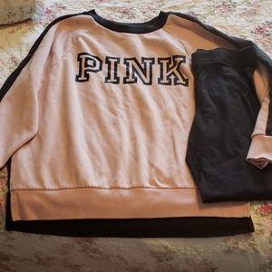 Victoria's secret pink set